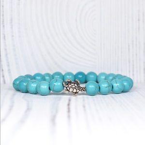 Turquoise Sea Turtle Detoxification Bracelet